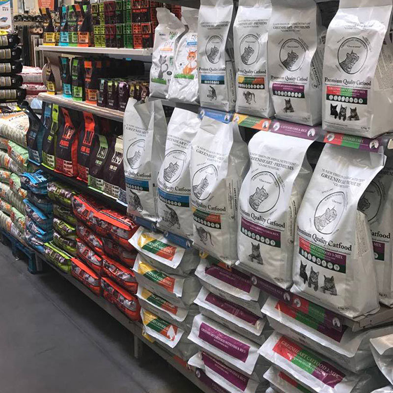 Aliments complets pour chiens et chats Greenheart-Premiums et AATU