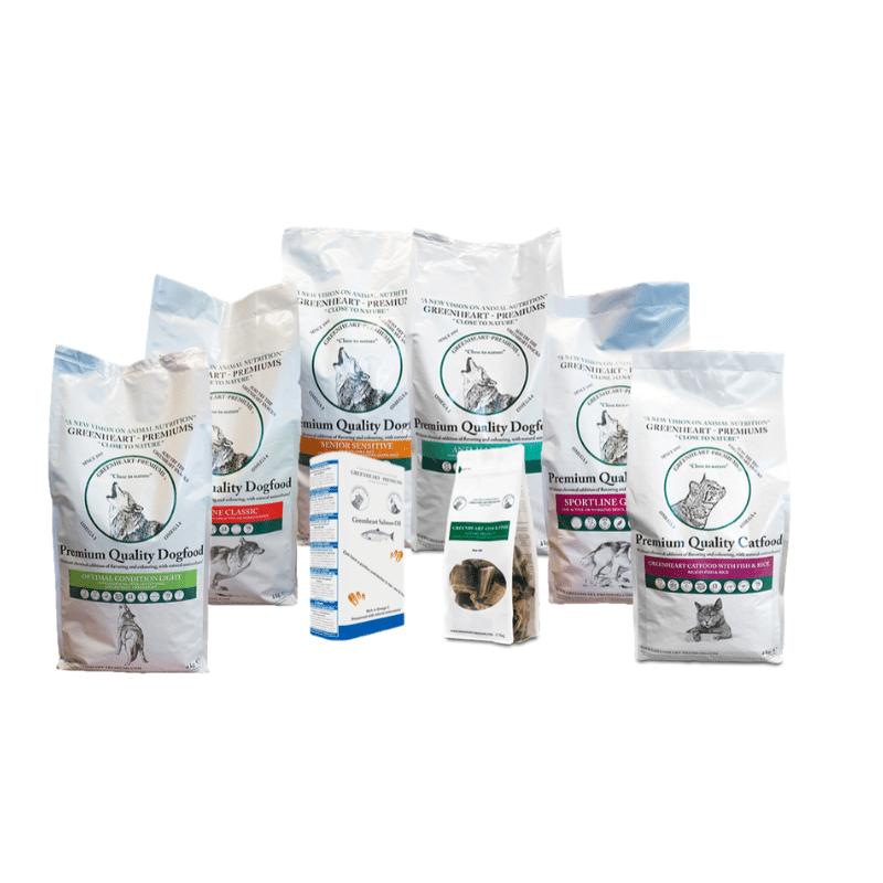 Greenheart-Premiums aliments complets pour chiens et chats
